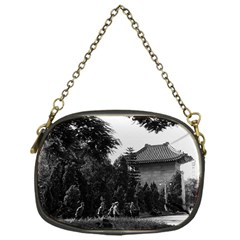 Vintage China Canton martyrs parc 1970 Single-sided Evening Purse