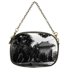 Vintage China Canton martyrs parc 1970 Twin-sided Evening Purse