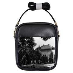 Vintage China Canton martyrs parc 1970 Kids  Sling Bag