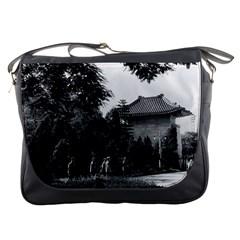 Vintage China Canton martyrs parc 1970 Messenger Bag