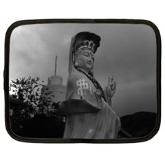 Vintage China Hong Kong Repulse Bay Kwun Yam Statue 12  Netbook Case