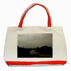 Vintage China Guilin Lijiang river 1970 Red Tote Bag