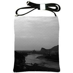 Vintage China Guilin Lijiang river 1970 Cross Shoulder Sling Bag