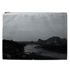 Vintage China Guilin Lijiang river 1970 Cosmetic Bag (XXL)