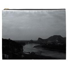 Vintage China Guilin Lijiang river 1970 Cosmetic Bag (XXXL)