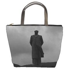 Vintage China Changsha Mao Tse Tung statue 1970 Bucket Handbag