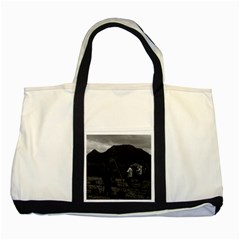 Vintage China Guilin watering with liquid manure 1970 Two Toned Tote Bag