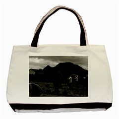Vintage China Guilin watering with liquid manure 1970 Twin-sided Black Tote Bag