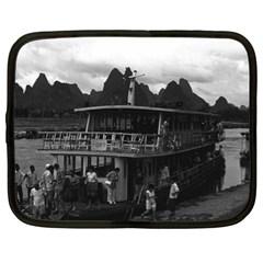 Vintage China Guilin river boat 1970 13  Netbook Case