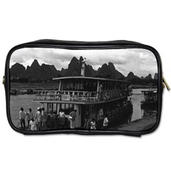 Vintage China Guilin river boat 1970 Single-sided Personal Care Bag