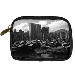 Vintage China Hong Kong houseboats river 1970 Compact Camera Case