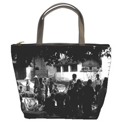 Vintage China Yangshuo market 1970 Bucket Handbag