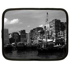 Vintage China Hong Kong houseboats river 1970 13  Netbook Case
