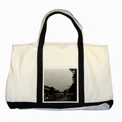 Vintage China Guilin Street Bicycles 1970 Two Toned Tote Bag