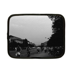 Vintage China Guilin street bicycles 1970 7  Netbook Case
