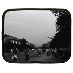 Vintage China Guilin street bicycles 1970 12  Netbook Case