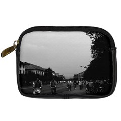 Vintage China Guilin street bicycles 1970 Compact Camera Case