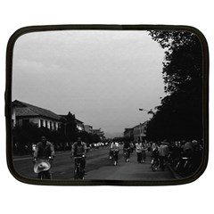 Vintage China Guilin street bicycles 1970 13  Netbook Case