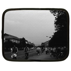 Vintage China Guilin street bicycles 1970 15  Netbook Case