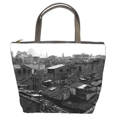 Vintage China Canton city 1970 Bucket Handbag