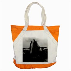 Vintage China Changsha xiang jiang river boat 1970 Snap Tote Bag