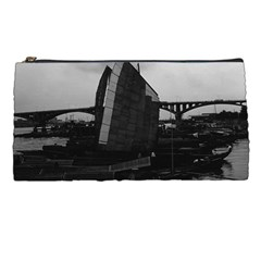 Vintage China Changsha Xiang Jiang River Boat 1970 Pencil Case