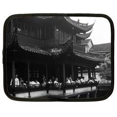 Vintage China Shanghai Yuyuan Garen Dianchun Hall 1970 12  Netbook Case