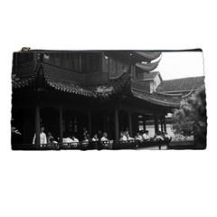Vintage China Shanghai Yuyuan Garen Dianchun Hall 1970 Pencil Case