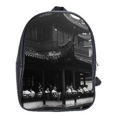 Vintage China Shanghai Yuyuan Garen Dianchun Hall 1970 School Bag (xl)