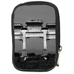 Vintage China Pekin gate ming tombs 1970 Digital Camera Case