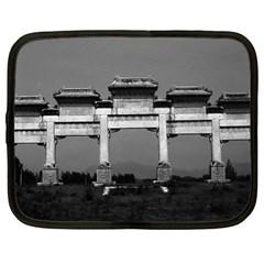 Vintage China Pekin gate ming tombs 1970 13  Netbook Case