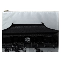 Vintage China Pekin Temple Of Heaven Gate 1970 Cosmetic Bag (xxl)