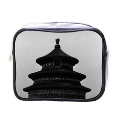 Vintage China Pekin Temple of Heaven 1970 Single-sided Cosmetic Case