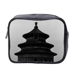 Vintage China Pekin Temple of Heaven 1970 Twin-sided Cosmetic Case