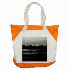 Vintage China Guilin Cormorant Fisherman 1970 Snap Tote Bag