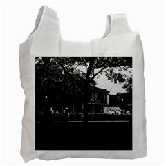 Vintage China Shanghai Yuyuan garen Dianchun hall 1970 Single-sided Reusable Shopping Bag