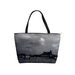 Vintage China pekin Tiananmen square 1970 Large Shoulder Bag