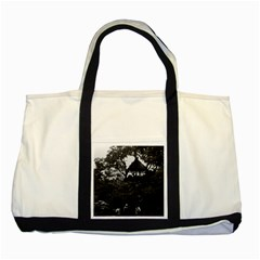 Vintage China Shanghai Yuyuan garden 1970 Two Toned Tote Bag