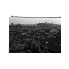 Vintage China Shanghai City 1970 Large Makeup Purse