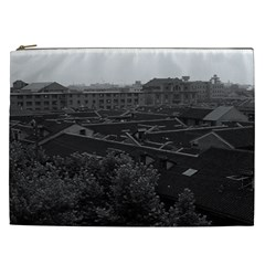 Vintage China Shanghai City 1970 Cosmetic Bag (XXL)