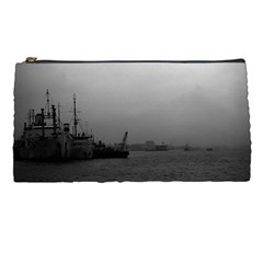 Vintage China Shanghai Port 1970 Pencil Case