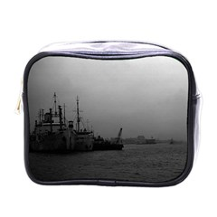 Vintage China Shanghai Port 1970 Single Sided Cosmetic Case