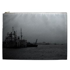 Vintage China Shanghai Port 1970 Cosmetic Bag (xxl)