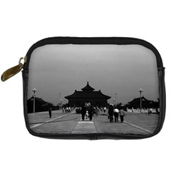 Vintage China Pekin Forbidden City Gate 1970 Compact Camera Case