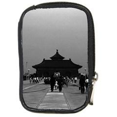 Vintage China Pekin Forbidden City Gate 1970 Digital Camera Case