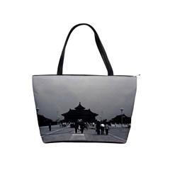 Vintage China Pekin forbidden city gate 1970 Large Shoulder Bag