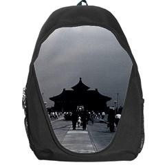 Vintage China Pekin Forbidden City Gate 1970 Backpack Bag