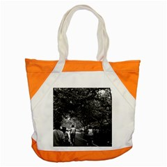 Vintage China Shanghai street 1970 Snap Tote Bag