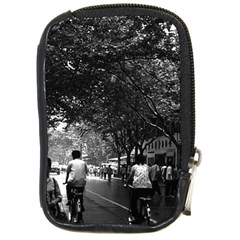 Vintage China Shanghai Street 1970 Digital Camera Case