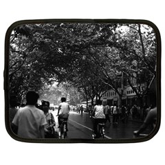Vintage China Shanghai Street 1970 15  Netbook Case
